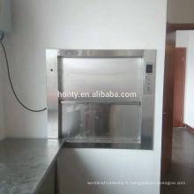 Bonne qualité dumbwaiter marchandises service ascenseur livraison marchandises muet serveur