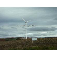 Générateur de vent de 100 kW avec commande de PLC et 23m libre stand tour