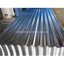 Gi Plaque d'acier ondulée, bardeaux de toiture en acier