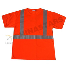wicking jersey fabric CSA ZA reflective safety T-shirt