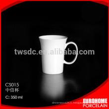 mug en porcelaine, tasse en céramique à l'exportation en gros