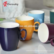 Café espresso esmaltado de dos tonos taza de café