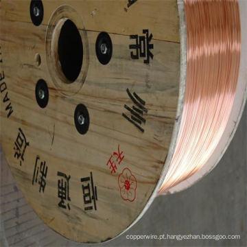 Diâmetro 0,10 mm-4,0 mm Fio de aço revestido de cobre CCS para transmissão de energia