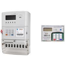 Трехфазный сплит-счетчик с предварительной оплатой энергии (беспроводная радиосвязь)