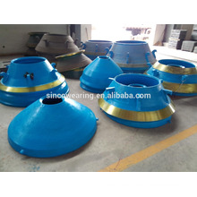 High Manganese Precision Casting Steel Cone Crusher Spare Parts Mn13Cr2 Mn18Cr2 -- Concave and Mantle