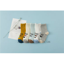 Glasses Designs Little Girl Cotton Socks Street Fashion Styles Girl Cotton Socks