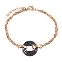 74404 wholesale italian stainless steel jewelry, gold latest ladies fashion bracelet