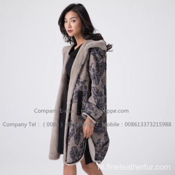 Dame Kopenhagen Mink Fur Overcoat In Winter