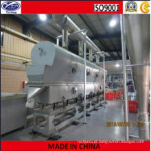 Secador de leito fluidizado vibratório de pólvora