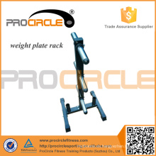 Heavy Equipment Soporte para rack de placa de peso