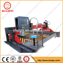 china cnc plasma and flame torch sheet metal cutting machine with American power source