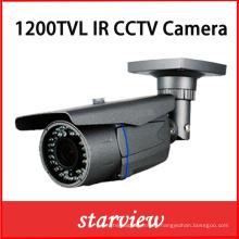 1200tvl IR Varifocal lente impermeable IP66 CCTV Bullet cámara de seguridad