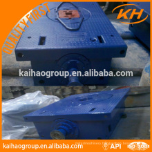 API zp275 rotary table, zp375 rotary table for drilling rig rotary table