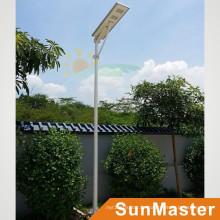 60W LED 60wsolar Panel Integrierte Solarstraßenlaterne All-in-One Solar LED Straßenlaterne