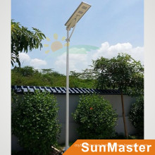 60W LED 60wsolar Panel Integrated Solar Street Light All-in-One Solar LED Street Lamp