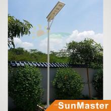 60W LED 60Wared Painel Solar Integrado Luz Solar All-in-One Solar LED Street Lamp