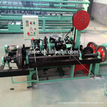 Galvanisierter Draht-normaler verdrehter Stacheldraht, der Maschine herstellt