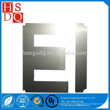 Fabrication noyau en acier laminé à froid par silicium électrique d'EI laminé à froid