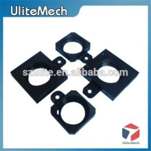 Custom Anodizing finish Black Color Aluminum CNC Parts