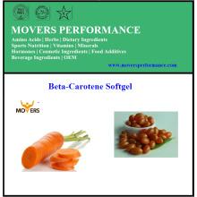 Heißer Verkauf Qualitäts-Beta-Carotin Softgel