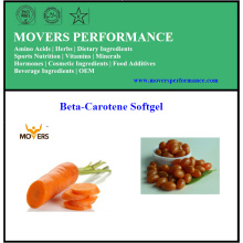 Hot Selling High-Quality Beta-Carotene Softgel