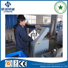 automatic rollform light gauge steel furniture section manufacturing machine