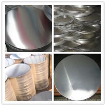 Círculo de alumínio da folha A1100 / A1050 / A1060 / A1070 H24 para o uso da cozinha