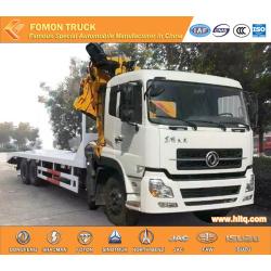 TIANLONG RHD platfrom truck with 25tons crane