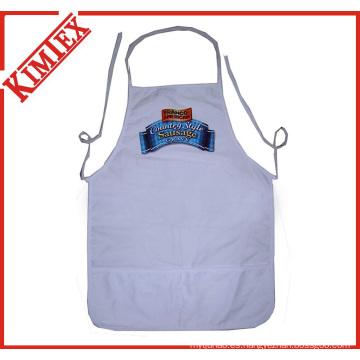 100% Algodón Cocina Delantal de cocina para la promoción (kimtex-300)