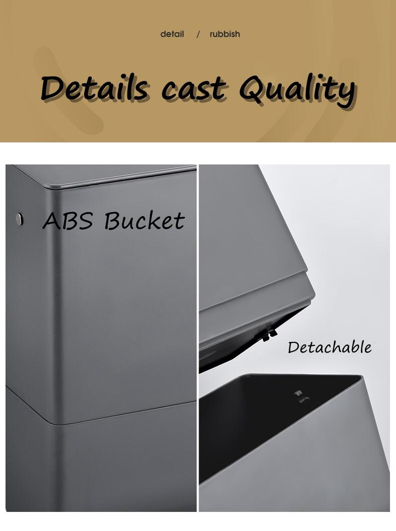 ABS Trash Bin
