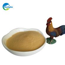 polvo de extracto de levadura a granel de la venta caliente para el pollo