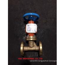 Brass Oxygen Flange Globe Valve