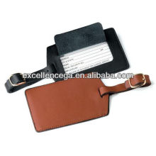 Top quality leather luggage tag straps