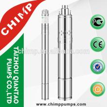 Pompe à eau de forage de 2inch / 3inch / 4inch d'acier inoxydable