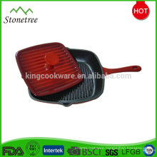 Custom high quality best price cast iron grill pan