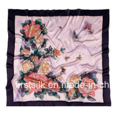 100%Silk Charmuse Silk Scarf