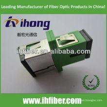 SC / APC adaptador de fibra óptica con obturador