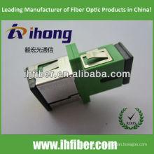 Adaptateur fibre optique SC / APC avec obturateur