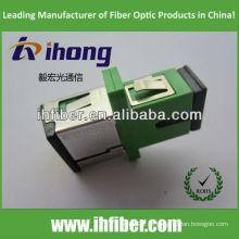 SC / APC adaptador de fibra óptica com obturador