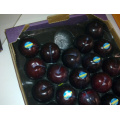 Blister-Prozess-Art Alveolar-Hexagon-Pflaumen-Gebrauchs-Tragebehälter-Frucht-Verpackung mit Export-Standard für Anzeige im Markt