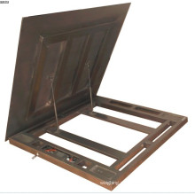 600kg - 1t - 2t Escala electrónica impermeable del piso