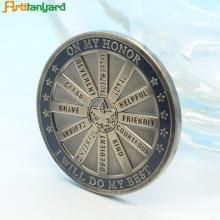 Polícia desafia moedas com design personalizado