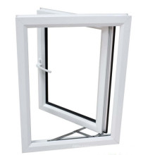 Plastic UPVC Casement Double Glass Swing Window
