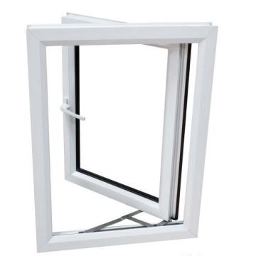Venta caliente de PVC / ventana de ventana abatible UPVC