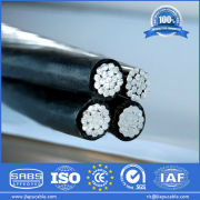 Overhead Cable Accessories Quadruplex, XLPE / PVC Insulated, Direct Factory Supply