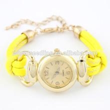 Reloj de cuero personalizado de alta calidad del niño del cuero