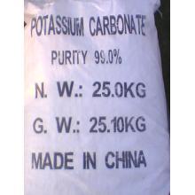 عالية الجودة مسحوق أبيض كربونات البوتاسيوم