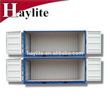 puerta de casa de envase de almacenamiento de contenedor casa puerta abierta