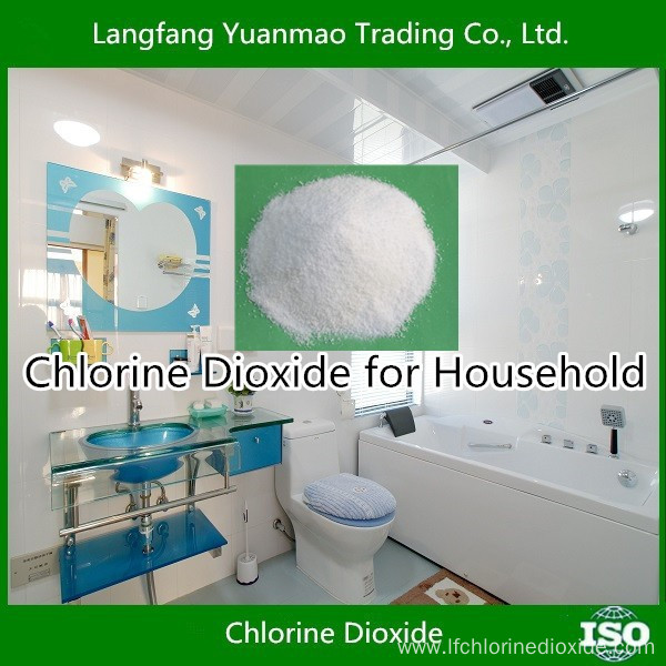 Household Disinfection Chemical Chlorine Dioxide Disinfectant China Manufacturer