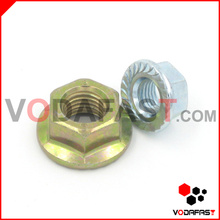 Asme/ANSI Hex Flange Nuts Zinc Plated